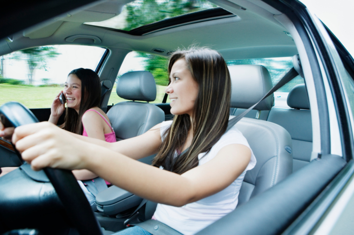 Teenage distracted driving